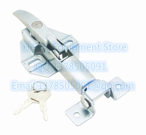 For Kobelco Engine Cover Catch 2427R302D2 2427R301 LATCH Hood Lock Fit SK100 SK120 <font><b>SK200</b></font> SK300 SK230 SK330 SK400-3/5/6/6E/<font><b>8</b></font> image
