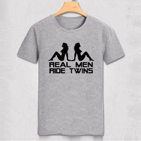 Harley Real Men Ride Car Model T Shirt Harley Competition T Shirt Funny Cool Club Pure