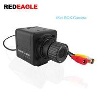 REDEAGLE Mini CCTV BOX Camera CVBS 700TVL Analog Security Camera with 4MM HD Lens