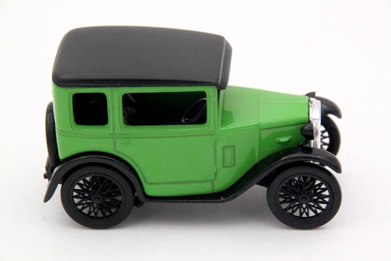 C.I.L 1:43 Escala Austin Seven Models Diecast Toys Cars Aficiones - Vehículos de juguete para niños - foto 1