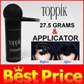 Toppik hair building fiber and applicator hot sell hair loss fibers effective anti hair loss product best applicator