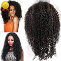 Full Lace Human Hair Wigs For Black Women Brazilian Virgin Hair Wig Kinky Curly Lace Front Human Hair Wigs Full Lace Virgin Wigs
