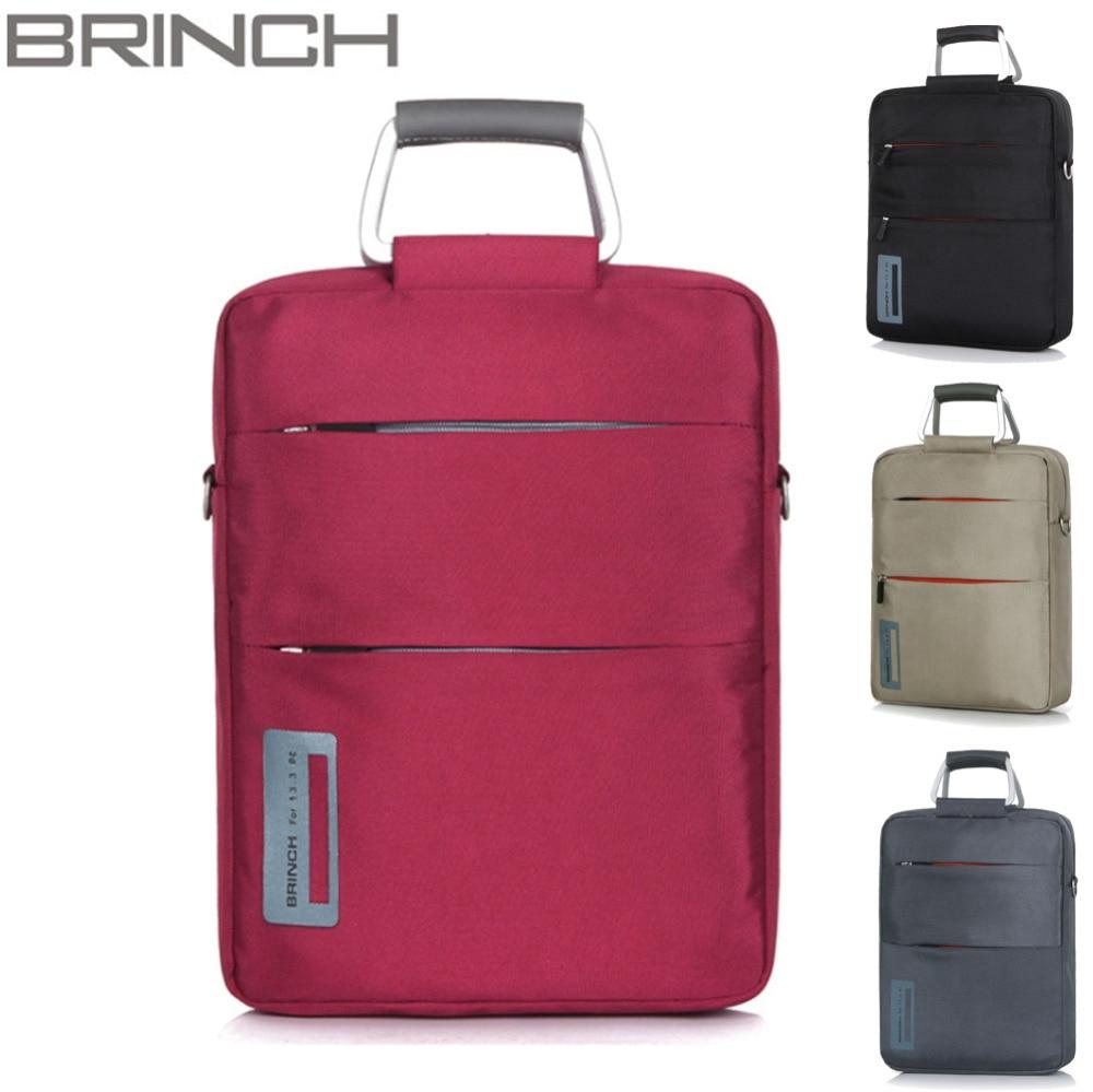 Brinch 11 12 inch Waterproof Tablet Bags Case Nylon Laptop Notebook Messenger Briefcase Shoulder Bag for Men Women