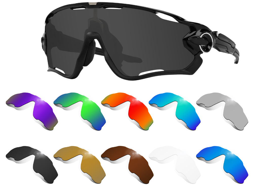 Glintbay Performance Polarized Replacement  Lenses For Oakley Jawbreaker Sunglass - Multiple Colors