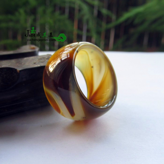 194 Natural Sardonyx Ring Finger Ring Jade Plants Need -6957