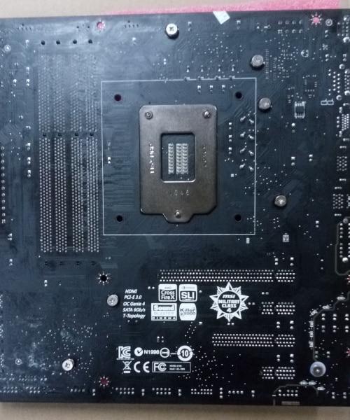 MSI Super 1150pin ATX motherboard Z87M GAMING support USB3.0 SATA6GB