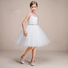 купить Tulle Short A Line Flower Girl Dresses for Wedding First Communion Dresses Wedding Party Dress Runway Show Pageant Danceway по цене 2698.76 рублей