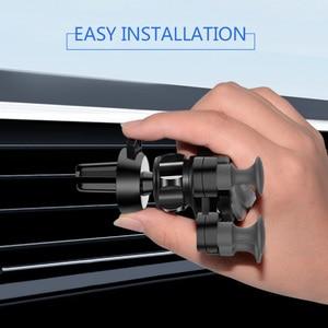 Image 2 - Mise à niveau modèle support de téléphone de voiture support de gravité Gadget de voiture antidérapant évent de voiture Amout téléphones accessoires de voiture Automobile