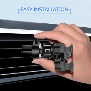 Image 2 - Upgrade Model Car Phone Holder Support Gravity Bracket Car Gadget Anti Slip Car Air Vent Amout Phones Automobile Car Accessories