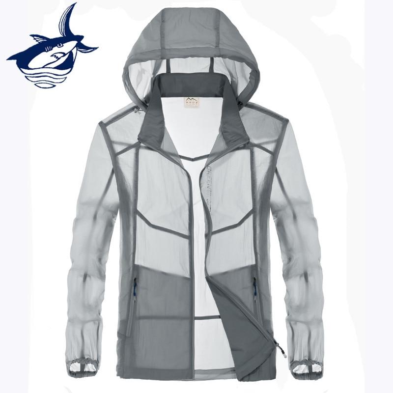 Tace & Shark куртка мужская одежда 2018 Осень, весна, лето тонкая куртка водонепроницаемый ветрозащитный солнцезащитный крем анти кожи куртка