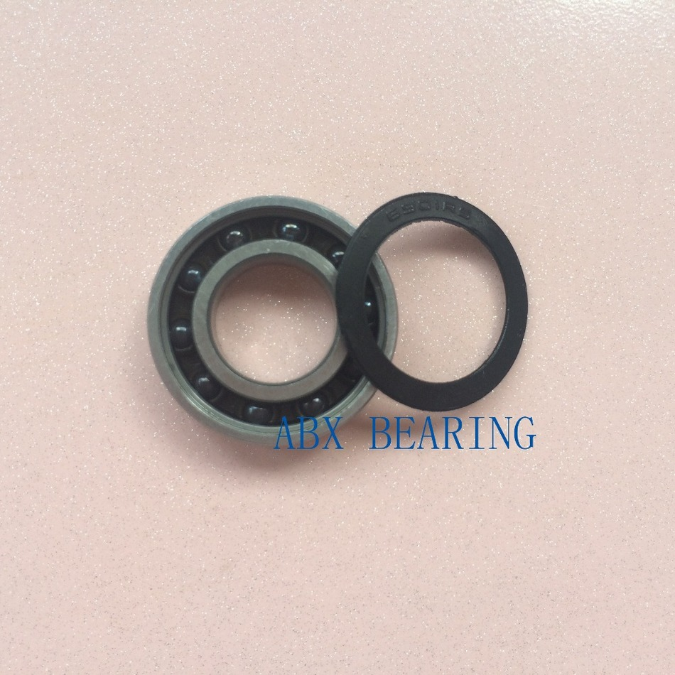 6901-2RS 6901 61901 SI3N4 hybrid ceramic deep groove ball bearing 12x24x6mm best price 10 pcs 6901 2rs deep groove ball bearing bearing steel 12x24x6 mm