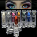 8 colores de alta calidad naked smoky metallic shimmer mate sombra de ojos lápiz maquillaje crema glam eey sombra stick belleza maquiagem