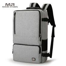 Mark Райден новые Ёмкость Анти-Вор Дизайн путешествия рюкзак подходит для 17 дюймов Сумка для ноутбука огромный Ёмкость Бизнес дорожная сумка