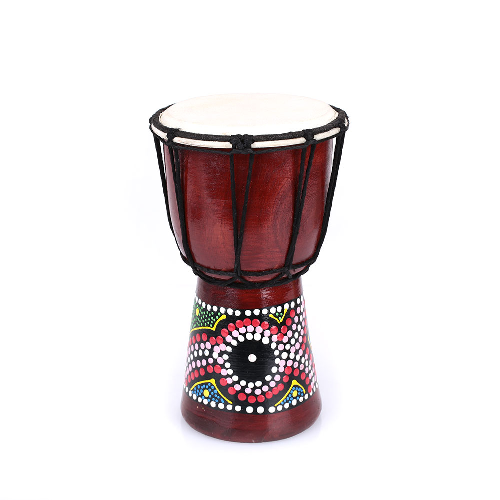 Peach Blossom деревянный барабан-как вещи сильная Африка джембе национальные инструменты бубен Африканский барабан джембе дропшиппинг