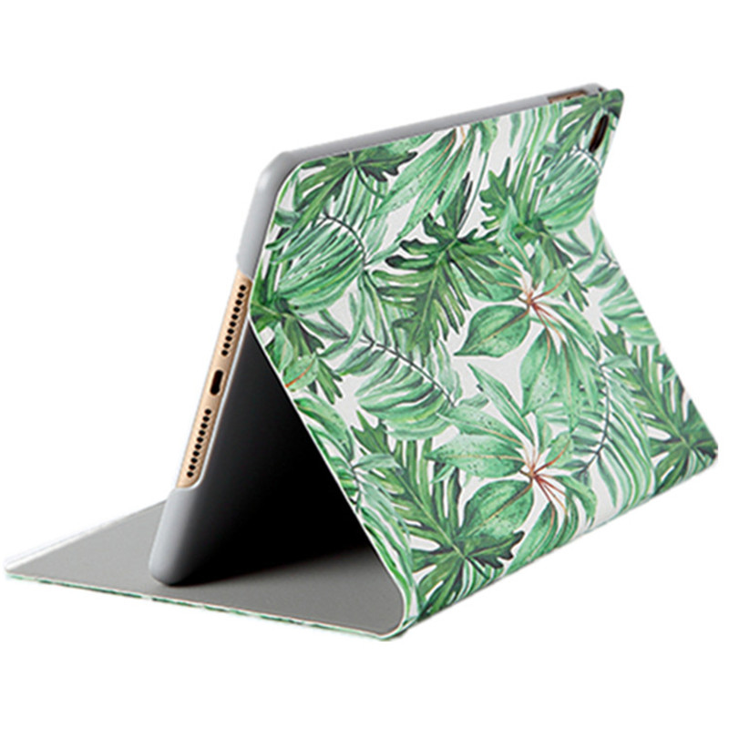 Green Leaf for iPad 9 7 2017 2018 Case Tablet Smart Cover Case for iPad Air 2 Air 1 Pro 9 7 Pro 10 5 Mini 1 2 3 4 Coque Funda in Tablets e Books Case from Computer Office