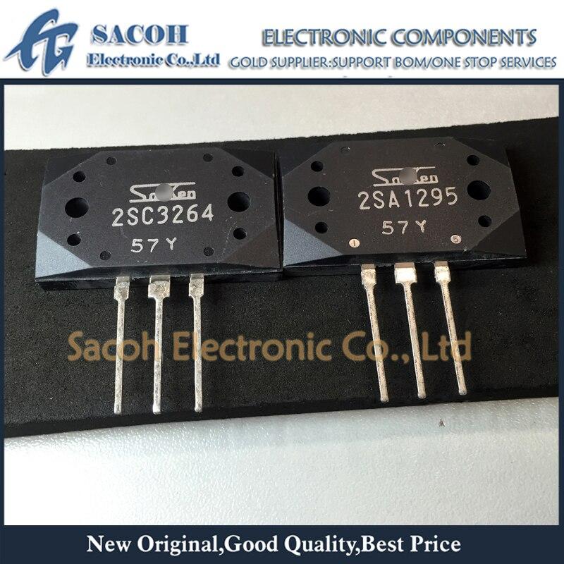 5pairs OR 10PCS  Transistor SANKEN MT-200 2SA1295-Y//2SC3264-Y 2SA1295//2SC3264