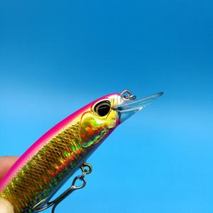 Image 4 - TSURINOYA 3 יח\חבילה להשעות מינאו קשה דיג פיתוי 19.5g/120mm ארוך מלאכותיות פיתיונות Wobblers בס קרס דיג