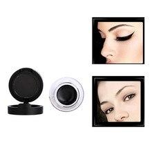 2 In 1 Eyeliner Gel And Eyeliner Powder Waterproof Eye Liner Long-lasting Eyeliner Nature Makeup Cosmetics цена 2017