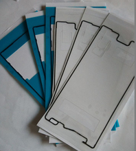5sets 10pcs Lot New Original Back Battery Cover LCD Frame Waterproof Adhesive Sticker for Sony Xperia