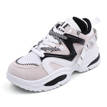FEERIJT 2019 spring new women's shoes sports shoes