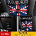 ユニオンジャックタバコ Usb パネル装飾ハウジングのためのミニクーパー F60 田舎車スタイリングアクセサリー