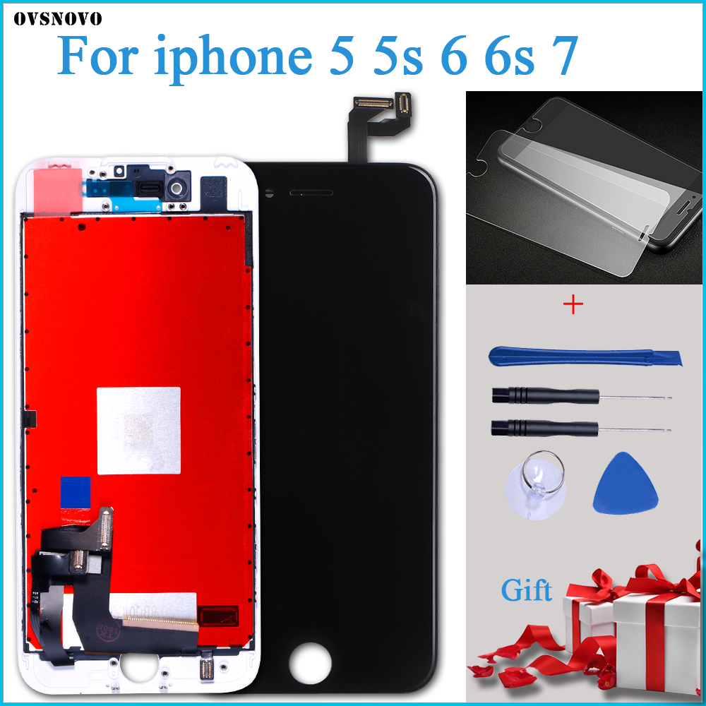 AAA LCD Display For IPhone 5 5S 6 6S 7 Module Touch Screen Glass Digitizer Replacement For Iphone 6s Repair LCD Screen Assembly