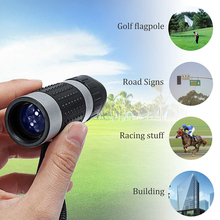 Professional 7x18 Zoom Monocular Golf Rangefinder HD Portable  Telescopic Spyglass Binocular Hunting Shooting Tourism Races