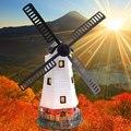 Украшение для дома и ночи  украшение для сада  водонепроницаемый наружный Вращательный вентилятор  солнечные огни  ветряная мельница  Офисн...