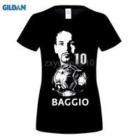 GILDAN Summer T Shirt Homme Short Sleeve Roberto Baggio Teenagers Casual Cotton Tshirt Casual Top Tees