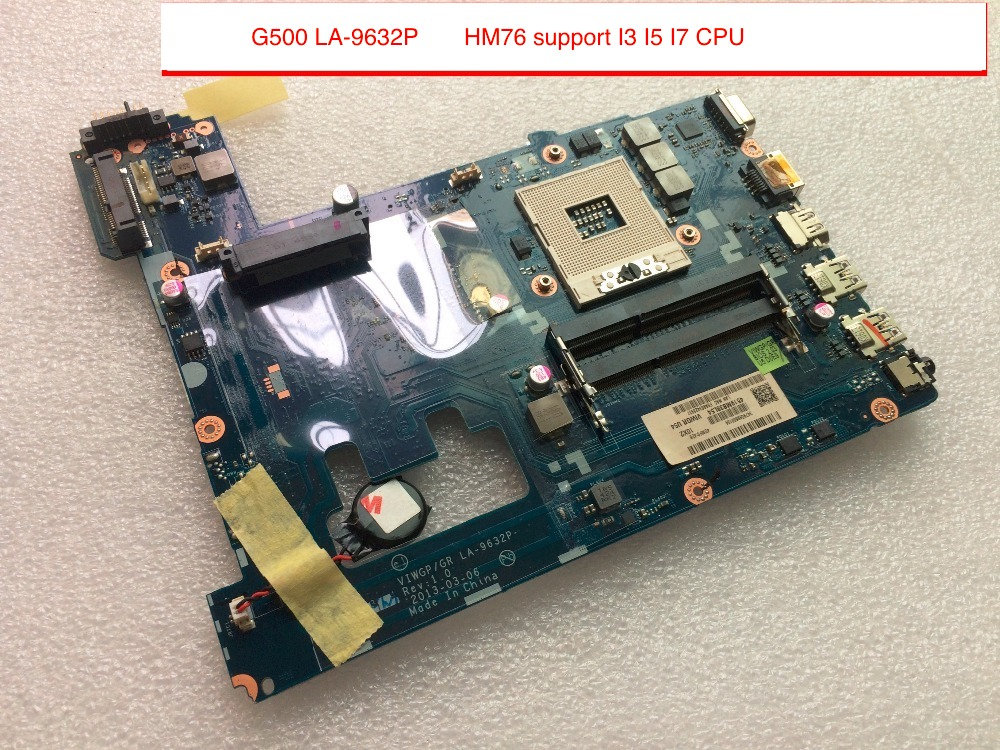 100% Original New VIWGP/GR LA-9632P G500 Motherboard For Lenovo G500 Laptop HM76 support I3 I5 I7 CPU цена