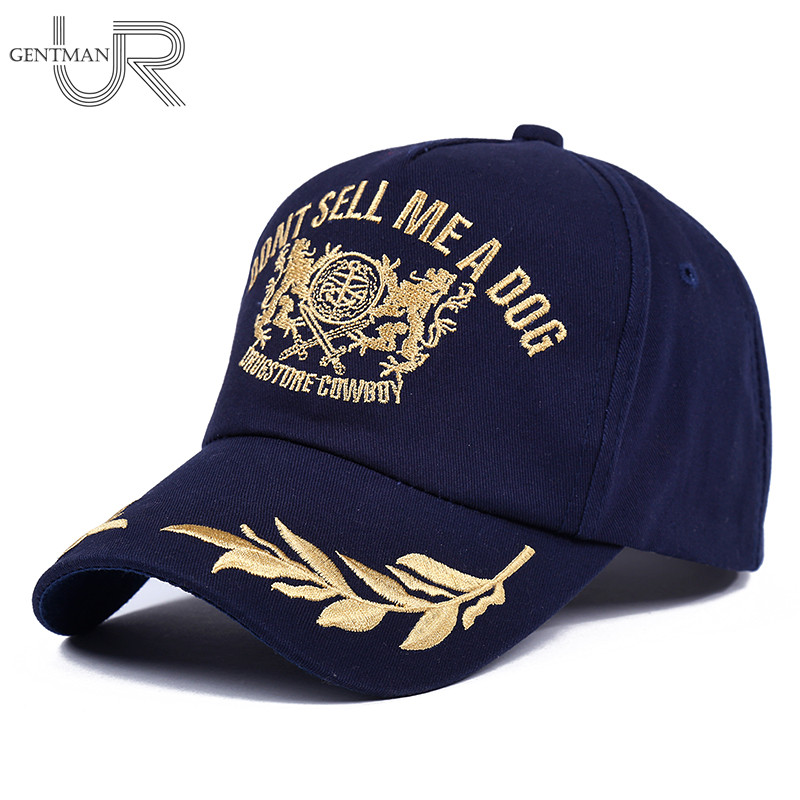 Newest Unisex DONT SELL ME A DOG   Baseball     Cap   Men & Women Casual Dad Hat High Quality Snapback Gold Embroidery Hat   Cap