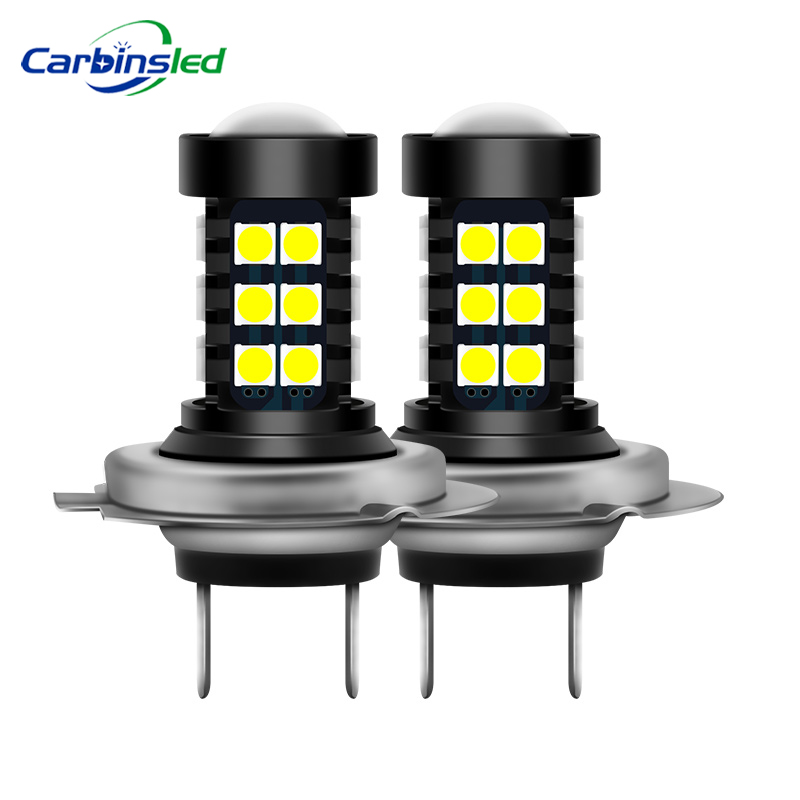 CARBINS 2Pcs H8 H11 H4 Led HB3 9005 HB4 9006 Fog Lights Bulb 3030SMD H4 White
