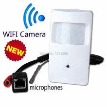 Дешевые Onvif 720 P IP Скрытые WI-FI Скрытые Камеры Детектор Движения HD ПИР СТИЛЬ Беспроводная Ip-камера Mini Ip-камеры, Wi-Fi P2P Безопасности