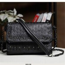 2017 mode Kleinen Beiläufigen Frauen Messenger Bags PU Crossbody Taschen Damen Schulter Geldbeutel und Handtaschen bolsas feminina Schwarz Weiß