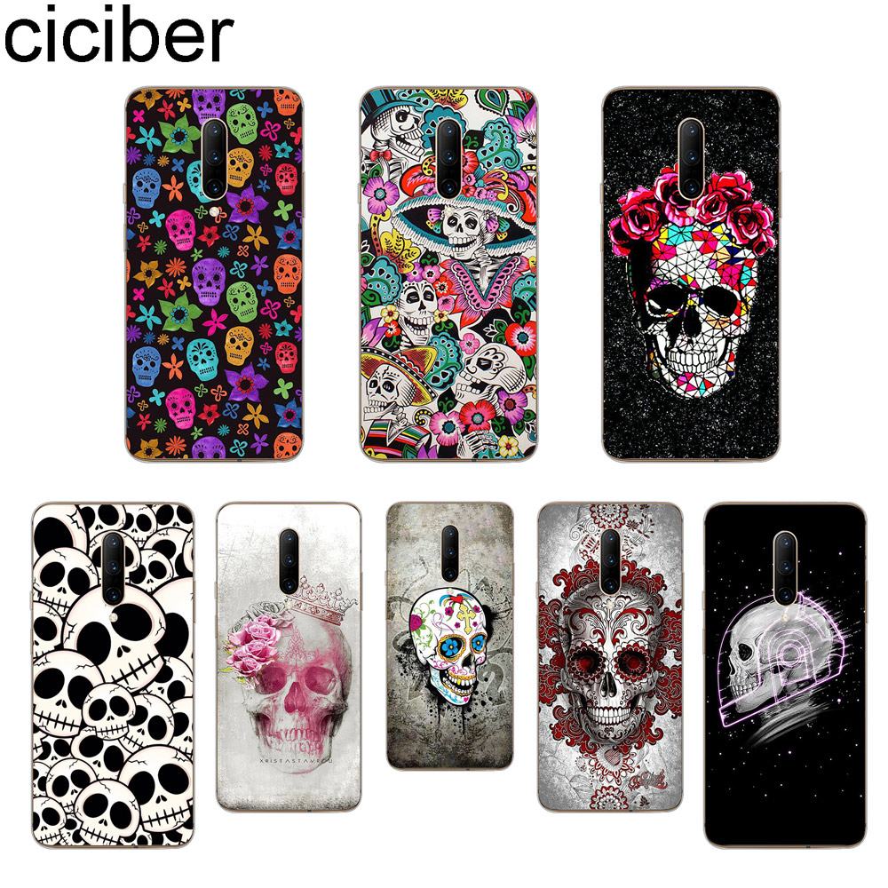 ciciber Sugar Skull Phone Case For font b Oneplus b font font b 7 b font