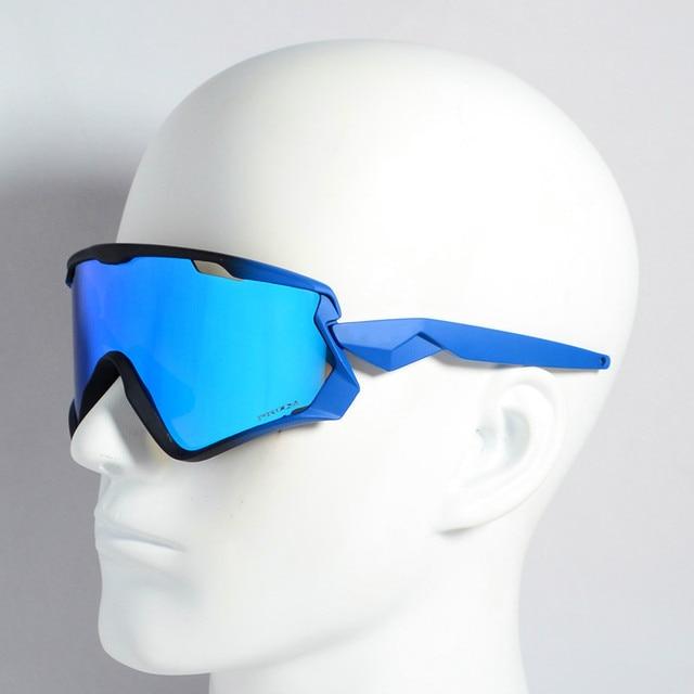 d59fab33f5 Photochromic Cycling Glasses Mountain Bike Bicycle Sport Cycling Sunglasses  Myopia MTB Cycling Eyewear