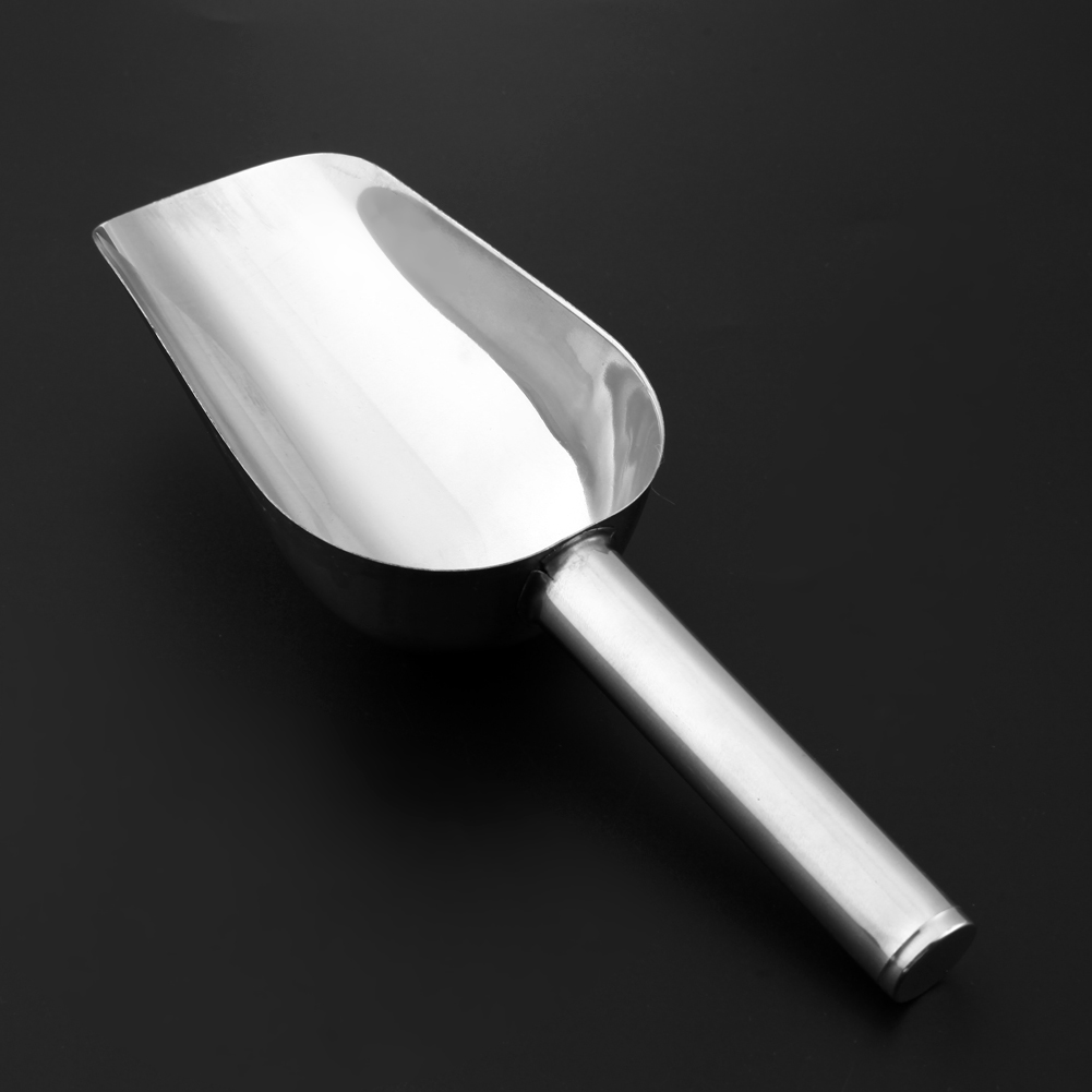 Pet Feeding Shovel Cat Food Scoop Large Capacity Thickening Dog Food Scoop Spoon Stainless Steel Shovel Pet Feeder #6