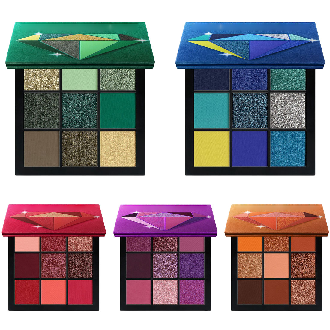 Beauty Essentials 9 Color Eye Shadow Disc High Light Repair Capacity Eye Shadow Disc Eyeshadow Flash Powder Plate Lazy Pearlescent Matte Beginner Keep You Fit All The Time Beauty & Health