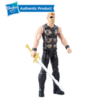 Hasbro TITAN HERO SERIES MOVIE A AST 12 Inch Doll with Helmet Accessory Action Figure Collectible Model Girl Boy Toy