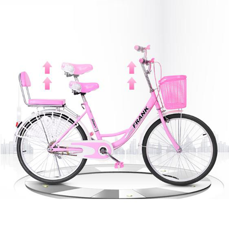 Bicycle Adult Women's Ordinary Vintage City Retro Travel Light Princess Student Lady Models Commuter Bicycle