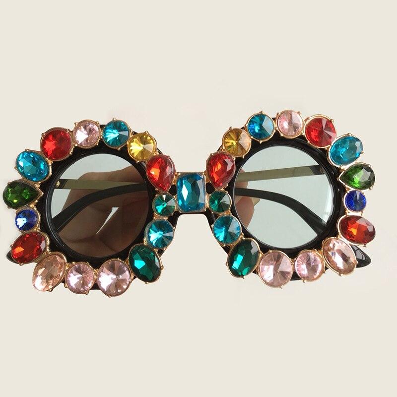 Runde 3 Mode no no 2 Design No Marke no Sunglasses Sunglasses 4 5 2018 1 Sunglasses Hohe Sunglasses Qualität Luxus Übergroße Sonnenbrille Vintage Sunglasses Gradienten no Frauen pHZ5q