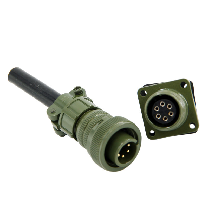 Military standard connector 6pins 5015 connector MS3106 3102 14S-6p Servo motor connector ms3106a 20 27p ms3106a against 5015 20 27p 14p core american standard aviation plug the standard waterproof connector motor