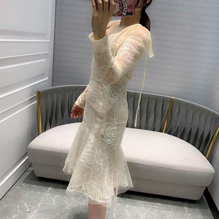 women fashion 2019 v neck trumpet mermaid dresses at190127