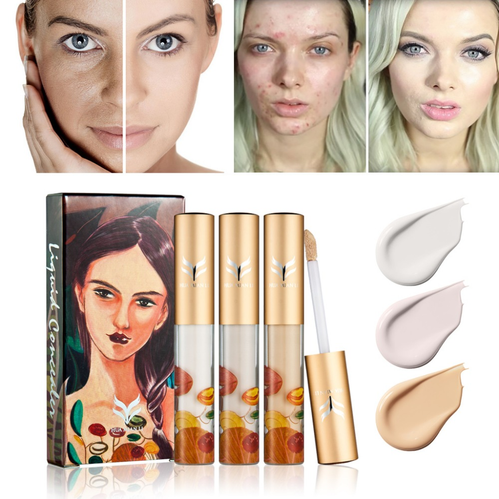 Huamianli Liquid Concealer Brand Full Cover Face Base Brightening Skin Maquiagem Makeup Beauty Zxy001 In From Health On