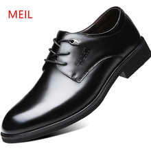 High Quality Men Formal Dress Shoes Leather Business Office Fashion Mens Oxford for
