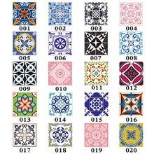 15 unids/set 8/10/12/15 cm, baldosas diagonales, pegatinas de pared, escritorio, armario, decoración, arte, Mural, línea de cintura de baño, pegatinas de pared de PVC