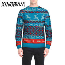 On Sale New Mens Fashion Casual Loose O Neck Long Sleeve Printing Hoodies Tops Autumn Male Large Size Sweatshirts Tees Riverdale(China)