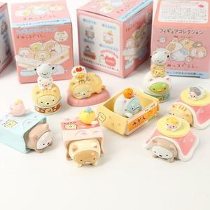 Image 2 - JY 8 шт./лот, японская одежда, милая серия кошек, декоративные фигурки существ, виниловые куклы WJ01