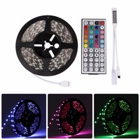 5M RGB LED Strip Light 12V 3528 5050 5630 Warm Cool White RGB 300led SMD Ribbon For Ceiling Counter Cabinet Light Non waterproof