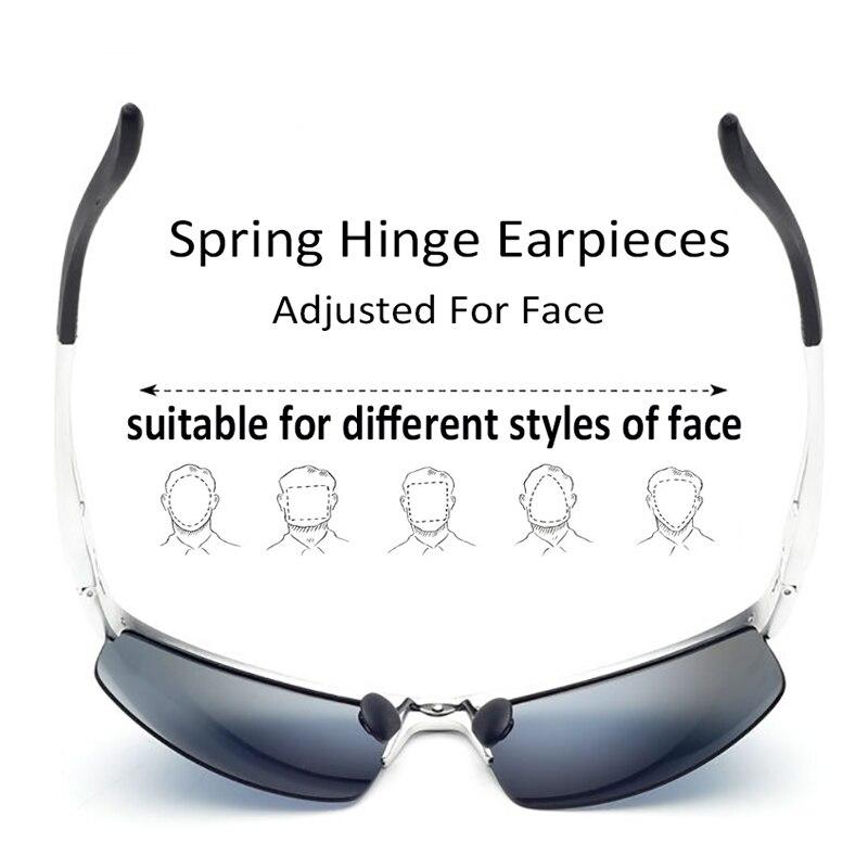 Jomolungma поляризованные очки для рыбалки для мужчин и женщин с корпусом из алюминиевого магниевого сплава уличные спортивные солнцезащитные очки PG880